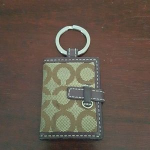 Coach Photo Keychain